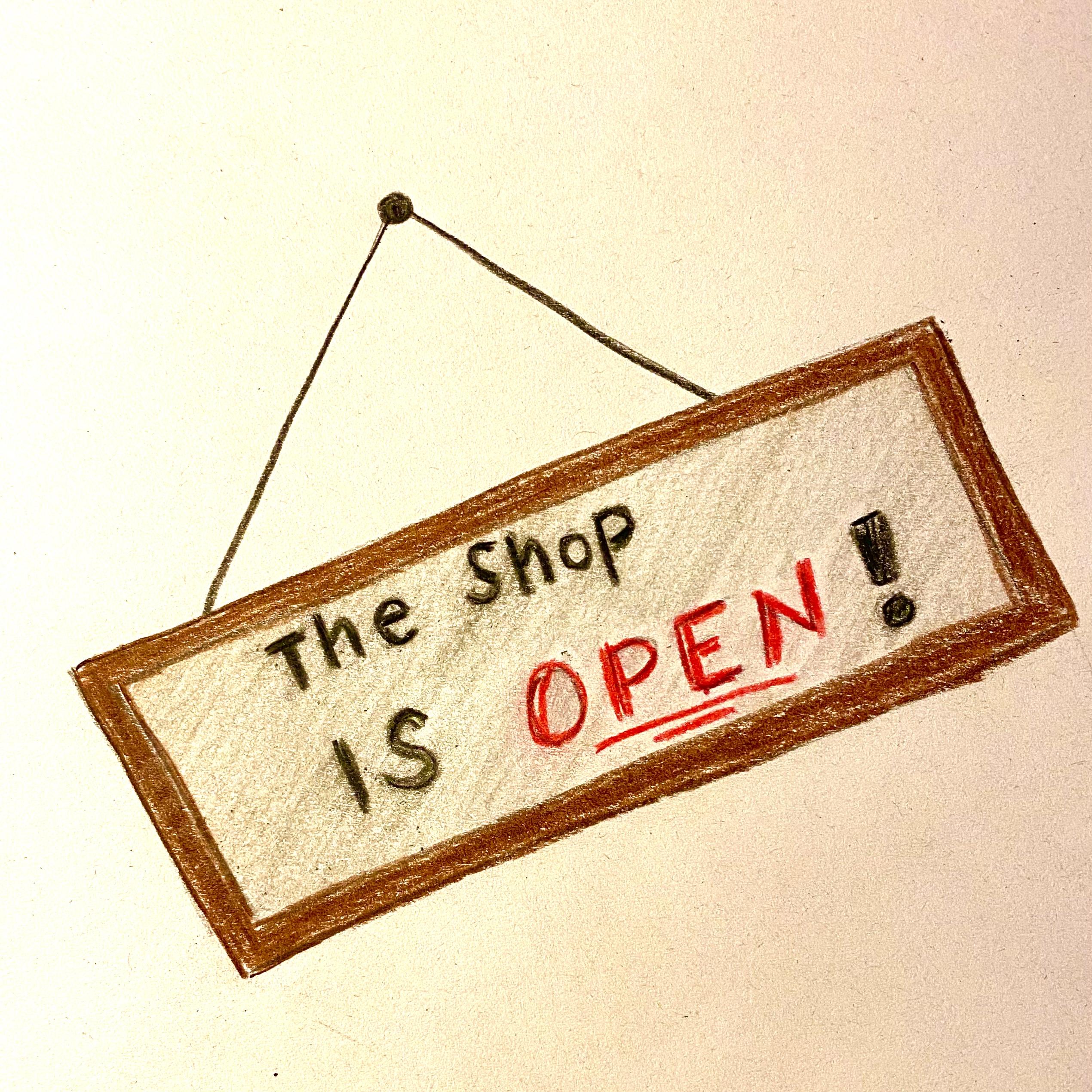 Der Shop ist eröffnet